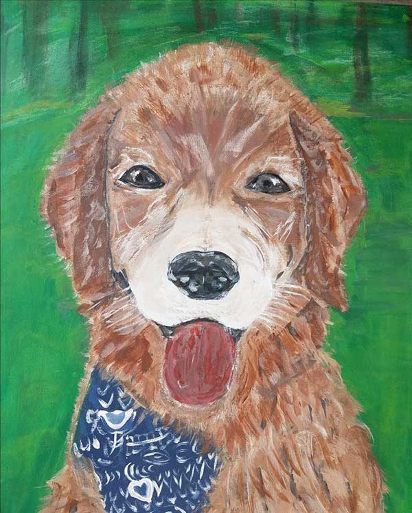 First Canine Portrait